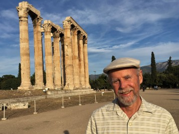 Frank at Temple of Zeus